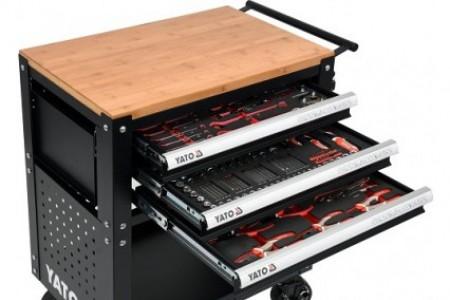 Chương trình đấu giá Tủ đồ nghề Yato 162 chi tiết YT-55280