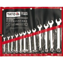 Bộ cờ lê vòng miệng hệ mét 12 chi tiết 8-24mm Yato YT-0062