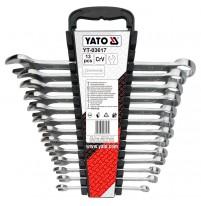 Bộ cờ lê vòng miệng 13 chi tiết 8-22mm Yato YT-03617
