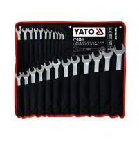 Bộ cờ lê vòng miệng 23 chi tiết Yato YT-03651