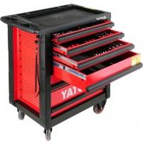 Tủ đồ nghề sửa chữa cao cấp 6 ngăn 177 chi tiết YATO YT-5530