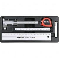 Khay bộ thước đo tổng hợp 5 chi tiết YT-55474