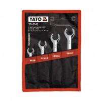 Bộ cờ lê 2 đầu miệng loe mở đai ốc 4 chi tiết Yato YT-0143