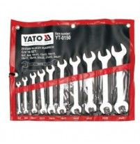 Bộ cờ lê 2 đầu miệng hệ mét 10 chi tiết Yato YT-0150