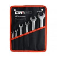 Bộ cờ lê 2 đầu miệng 6 chi tiết Yato YT-48180