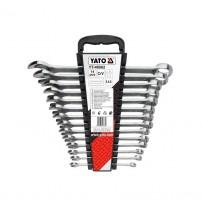 Bộ cờ lê vòng miệng hệ inch 14 chi tiết Yato YT-48862