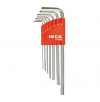 Bộ lục giác hệ mét 7 chi tiết YATO YT-58826