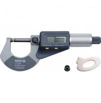 Panme đo ngoài điện tử Yato YT-72305 0-25mm