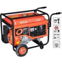 Máy phát điện dùng xăng khởi động đề 5.0KW Yato YT-85440E
