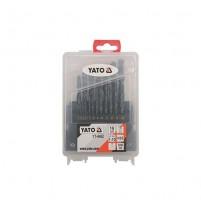 Bộ mũi khoan kim loại 19 chi tiết Yato YT-4462
