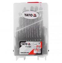 Bộ mũi khoan kim loại 25 chi tiết Yato YT-41605