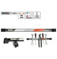 Thanh treo dụng cụ từ tính 500mm Yato YT-0835