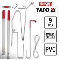 Bộ dụng cụ mở cửa ô tô từ bên ngoài 9 chi tiết Yato YT-08385