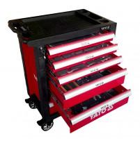 Tủ đồ nghề sửa chữa làm đồng 6 ngăn 217 chi tiết Yato YT-55303