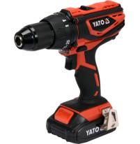 Máy khoan vặn vít dùng pin 18V Yato YT-82786