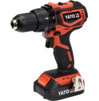 Máy khoan vặn vít dùng pin 18V Yato YT-82794