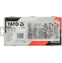 Bộ đai ốc cánh bướm tổng hợp 150 chi tiết Yato YT-06676