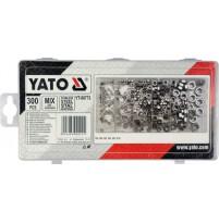 Bộ đinh ốc không gỉ tổng hợp 300 chi tiết Yato YT-06773