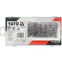 Bộ đinh tán tổng hợp 400 chi tiết Yato YT-36420