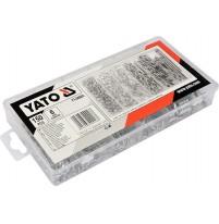 Bộ chốt khóa tăm 150 chi tiết Yato YT-06883