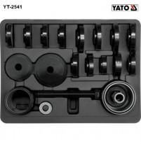 Bộ dụng cụ tháo lắp vòng bi lốp trước 23 chi tiết Yato YT-2541