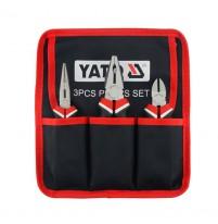 Bộ kìm 3 chi tiết Yato YT-39612