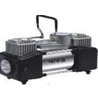 Máy nén khí cầm tay ô tô có đèn Led 250W Yato YT-73462