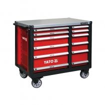 Tủ đựng đồ nghề cao cấp 12 ngăn kết hợp bàn làm việc YATO YT-09003