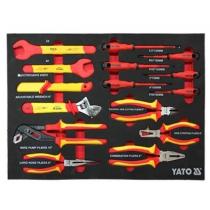 Khay dụng cụ sửa chữa cách điện 1000V 15 chi tiết YATO YT-55305T2