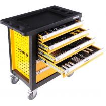 Tủ đồ nghề cho xưởng sửa chữa dịch vụ 177 chi tiết VOREL 58540