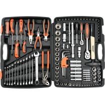 Bộ dụng cụ sửa chữa 122 chi tiết STHOR 58690