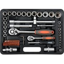 Bộ dụng cụ sửa chữa 72 chi tiết STHOR 58705